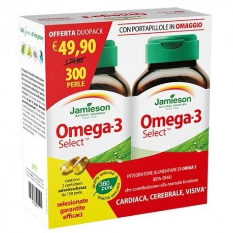 Omega 3 Jamieson, Omega 3 Select, Duo Pack 300 perle