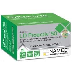 Digestivi e intestino Named, LD Proactiv 50, 20 cpr.