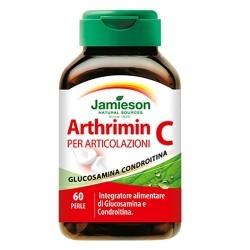 Glucosamina, Condroitina, MSM Jamieson, Arthrimin C, 60perle