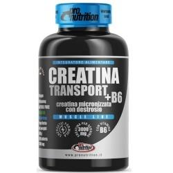 Creatina Pro Nutrition, Creatina Transport + B6, 200 cpr.