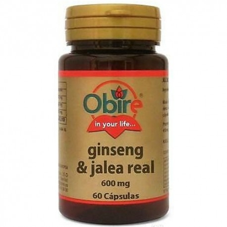 Ginseng Obire, Ginseng e Pappa reale, 60 cps