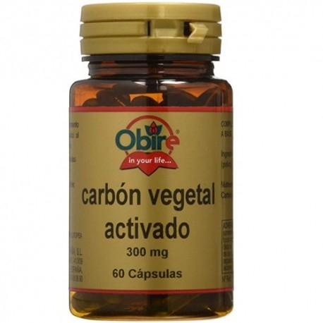 Funzionalità digestiva Obire, Carbone Vegetale attivo, 60 cps