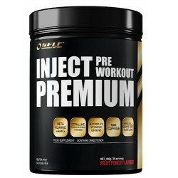 Pre Workout Self Omninutrition, Inject Premium, 400 g.