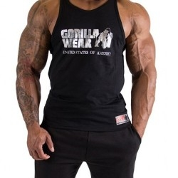 T-Shirt e Pantaloni Gorilla Wear, Classic Tank Top Silver