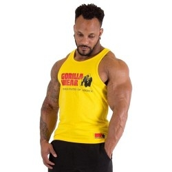 T-Shirt e Pantaloni Gorilla Wear, Classic Tank Top Yellow
