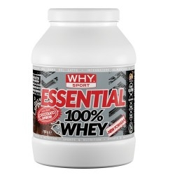 Proteine del Siero del Latte (whey) WHY Sport, Essential 100% Whey, 750 g (Sc.03/2020)