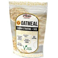 Farine Pro Nutrition, Oat Meal aromatizzato, 1000 g (Sc.03/2020)