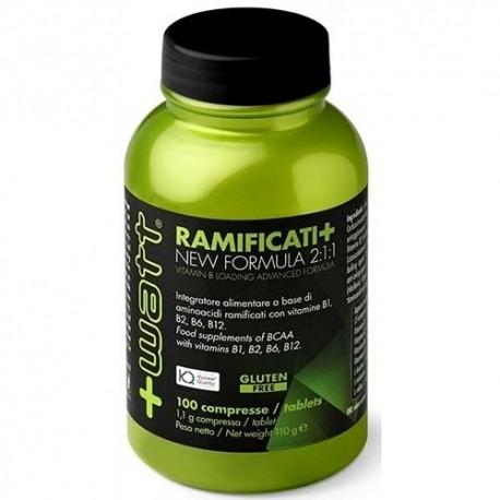 Aminoacidi Ramificati (Bcaa) +Watt, Ramificati+, 100cpr. (Sc.03/2020)