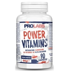 Multivitaminici - Multiminerali Prolabs, Power Vitamins, 90 cpr.