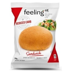Pane e Prodotti da Forno Feeling Ok, Sandwich, 50 g