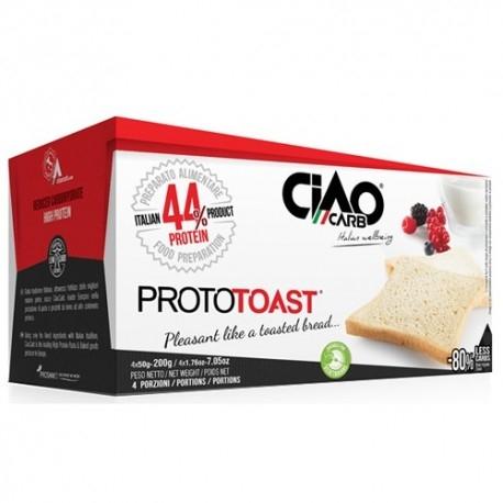 Pane e Prodotti da Forno Ciao Carb, ProtoToast Stage 1, (4 x 50 g)