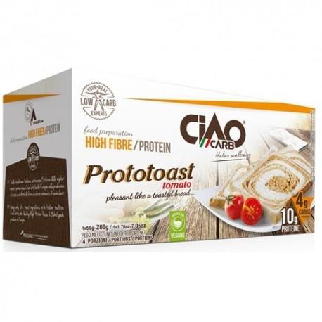 Pane e Prodotti da Forno Ciao Carb, ProtoToast Tomato Stage 2, (4 x 50 g)