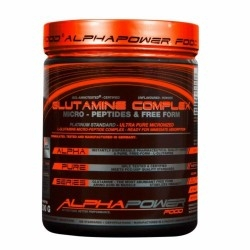 Glutammina AlphaPower Food, Glutamine Peptide Complex, 300 g.