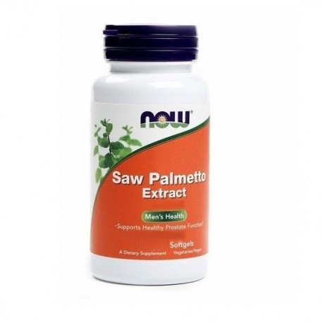 Saw Palmetto Now Foods, Saw Palmetto Extract, 60 sofgels.