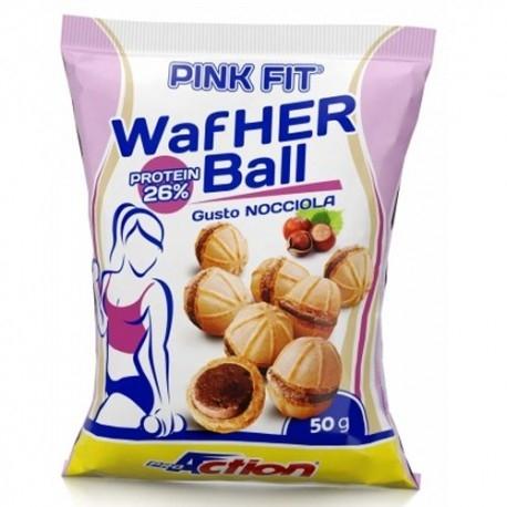 Offerte Limitate Proaction, Pink Fit Wafher Ball, 50 g.