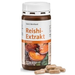 Reishi - Shiitake Sanct Bernhard, Reishi Extrakt, 120 cps