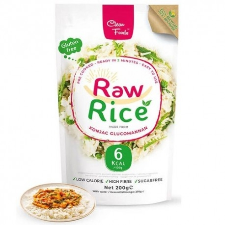 Pasta e Riso Clean Foods, Raw Rice, 200 g