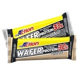 Barrette proteiche Proaction, Wafer Protein, 40 g. (Sc.05/2020)