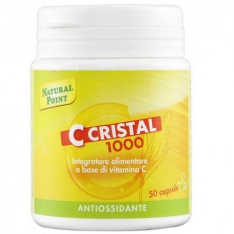 Vitamina C Natural Point, C Cristal 1000 Veg, 50 cps