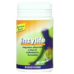 Enzimi digestivi Natural Point, Enzylife Veg, 60 cps