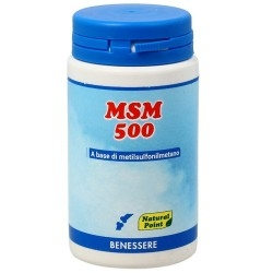 Glucosamina, Condroitina, MSM Natural Point, MSM 500, 100 cps