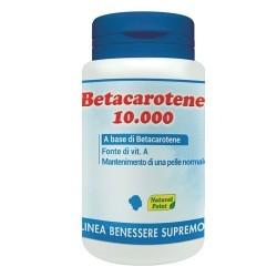 Vitamina A Natural Point, Betacarotene 10.000, 80 cps.