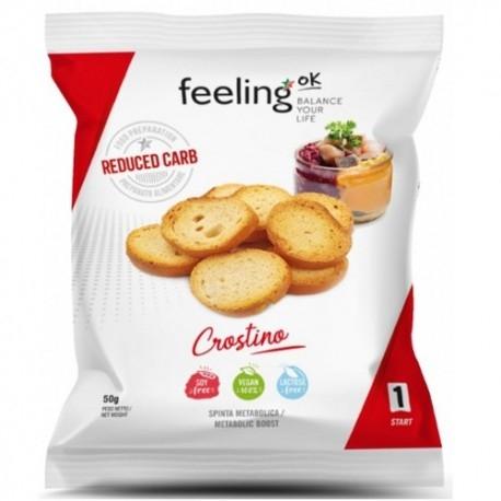 Pane e Prodotti da Forno Feeling Ok, Crostino, 50 g