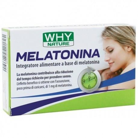 Melatonina WHY Nature, Melatonina, 80 cpr