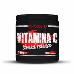 Vitamina C FlorioSport, Vitamina C Timed Release, 300 cpr