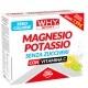 Zinco e Magnesio WHY Sport, Magnesio Potassio Senza Zuccheri, 10 pz