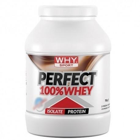 Proteine del Siero del Latte (whey) Why Sport, Perfect 100% Whey, 750 g