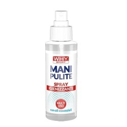 Detergente WHY Sport, Mani pulite Spray, 100 ml