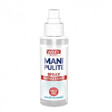 Detergente WHY Sport, Mani pulite Spray, 100 ml