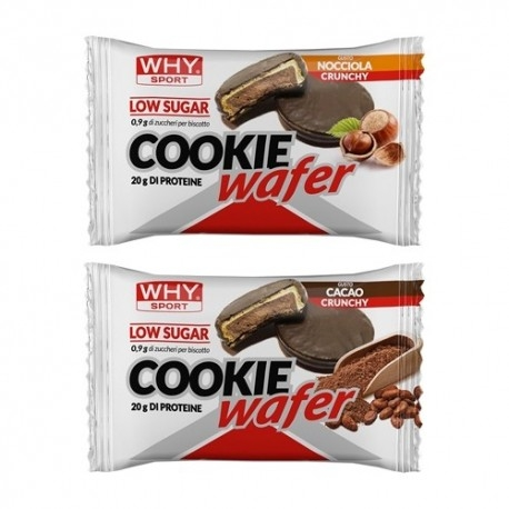 Biscotti e Dolci WHY Sport, Cookie Wafer, 60 g