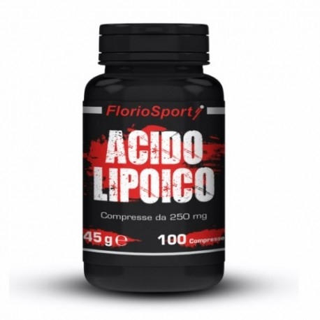Acido lipoico FlorioSport, Acido Lipoico, 100 cpr.