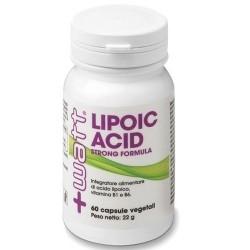 Acido lipoico +Watt, Lipoic Acid Strong Formula, 60cps