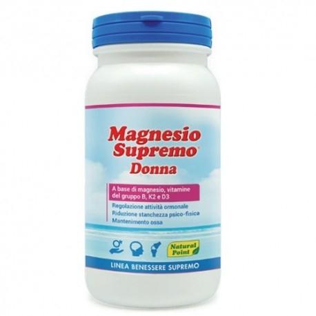 Vitamine e Minerali Natural Point, Magnesio Supremo Donna, 150 g