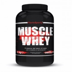 Proteine del Siero del Latte (whey) FlorioSport, Muscle Whey, 2000 g