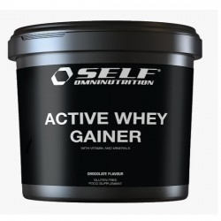 Gainers Self Omninutrition, Active Whey Gainer, 4000 g