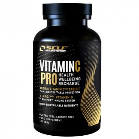 Vitamina C Self Omninutrition, Vitamin C Pro, 100 cpr
