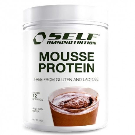 Biscotti e Dolci Self Omninutrition, Mousse Protein, 240 g