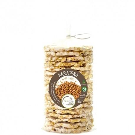 Biscotti e Dolci +Watt, Gallette Saraceno Bio, 90 g