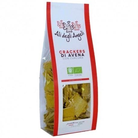 Scadenza Ravvicinata +Watt, Crackers di Avena con Curcuma Bio, 200 g (Sc.11/2020)