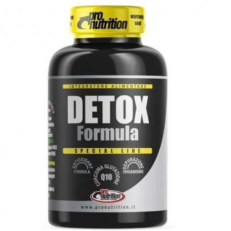 Antiossidanti Pro Nutrition, Detox Formula, 60 cpr.