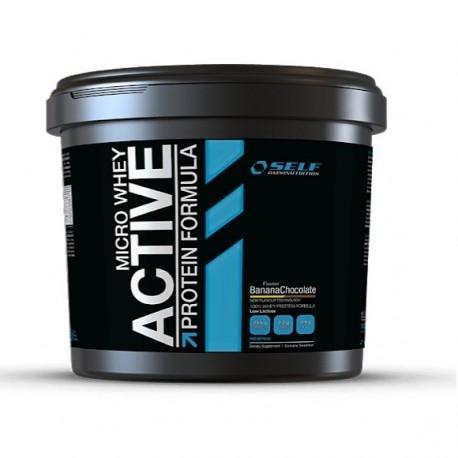 Proteine del Siero del Latte (whey) Self Omninutrition, Micro Whey Active, 4000 g