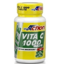 Vitamina C Proaction, Life Vita C 1000, 60 cpr