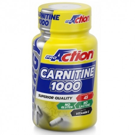 Carnitina Proaction, Carnitina 1000, 45 Cpr.