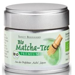 Tè verde Sanct Bernhard, Tè Matcha Bio, 30 g