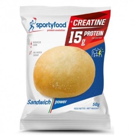 Pasti e Snack SportyFood, Sandwich Power, 40 g