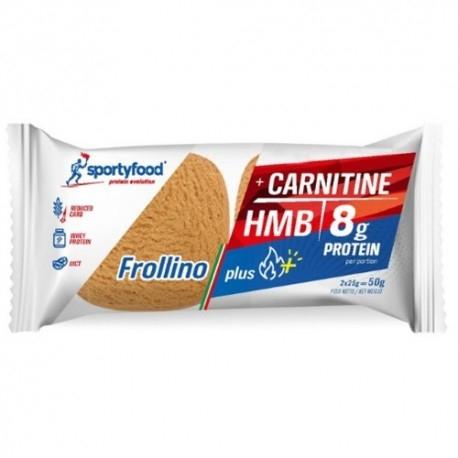 Biscotti e Dolci SportyFood, Frollino Plus, 50 g (Sc.05/2021)